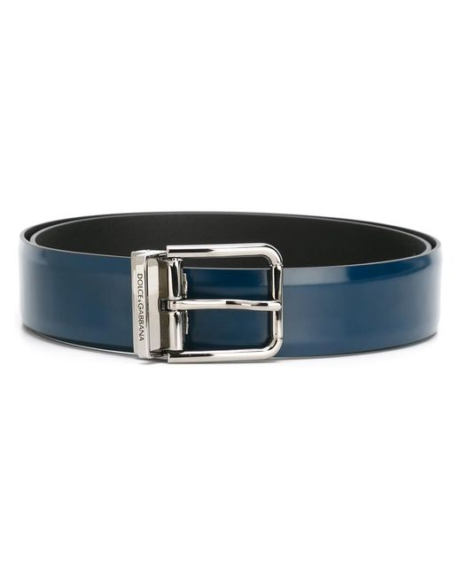 Dolce & Gabbana | Blue Classic Belt for Men | Lyst