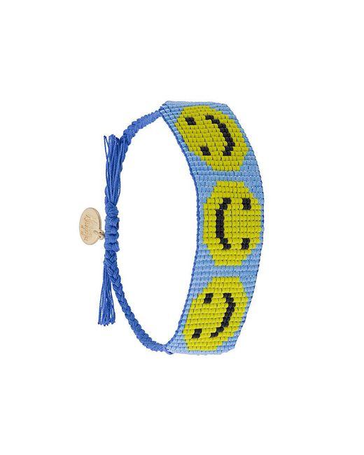 Venessa Arizaga   Blue Smiley Bracelet   Lyst
