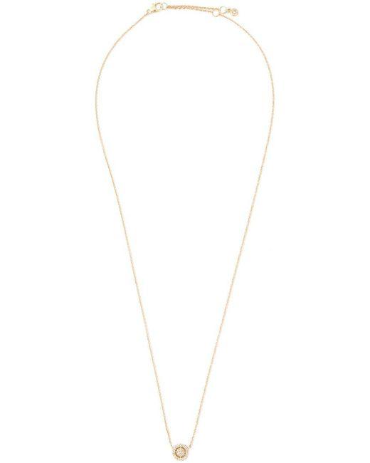 Astley Clarke   Metallic Mini 'icon Aura' Diamond Pendant Necklace   Lyst