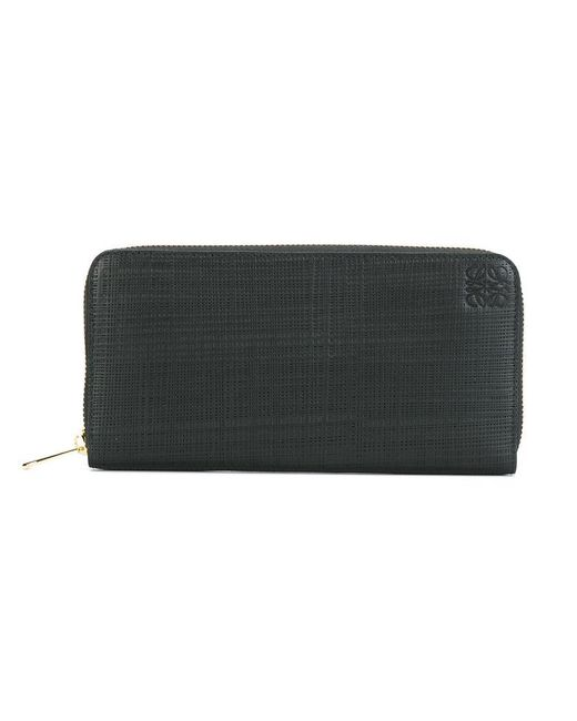 Loewe - Black All Around Zip Wallet - Lyst