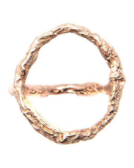 Niza Huang - Metallic 'illusion Siska' Ring - Lyst