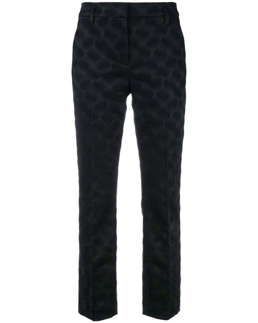 Dorothee Schumacher | Blue Cropped Trousers | Lyst