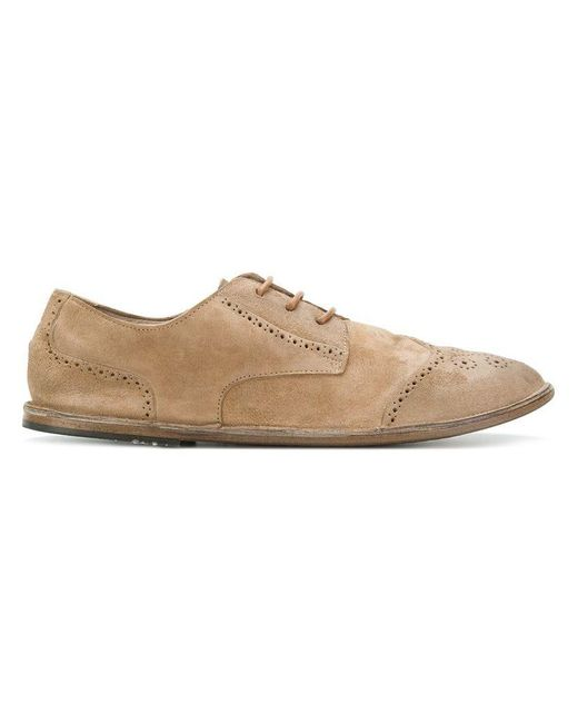 Marsèll - Natural Schnürschuhe mit Budapestermuster for Men - Lyst