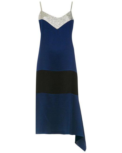 Gloria Coelho | Blue Midi Dress | Lyst