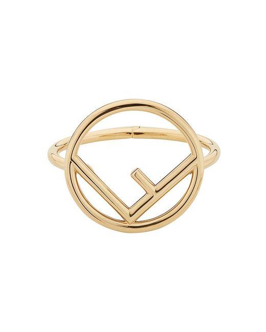Fendi - Metallic F Is Bracelet - Lyst