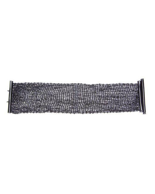 Christian Koban - Metallic Woven Bracelet - Lyst