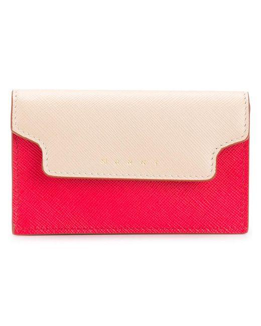 Marni - Multicolor Colour Block Cardholder - Lyst
