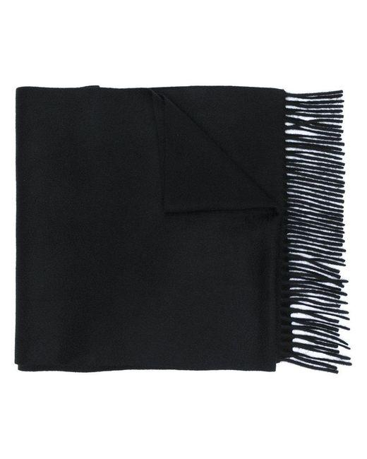 Alexander McQueen | Black Cashmere Scarf for Men | Lyst