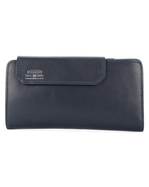 As2ov - Blue Mobile Long Wallet for Men - Lyst