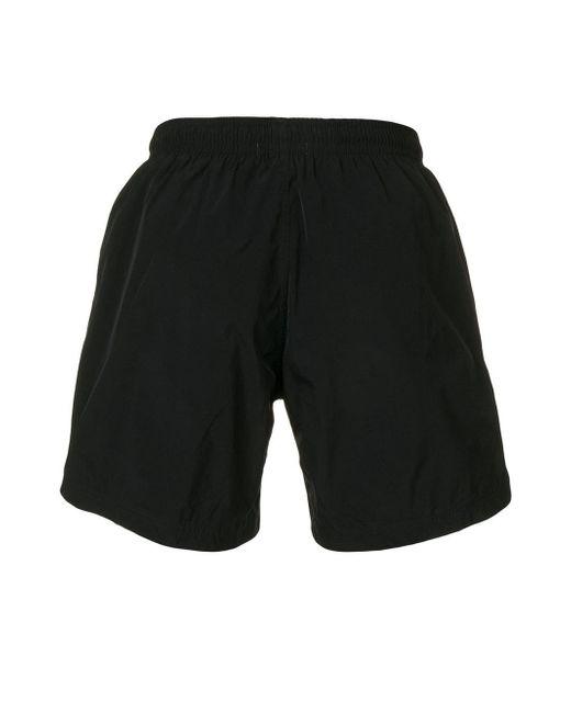 e237b70532 ... Alexander McQueen - Black Skull Print Swim Shorts for Men - Lyst ...
