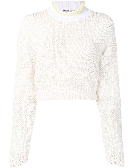 6fb2ea07714 Women's White Chunky Knit Sweater