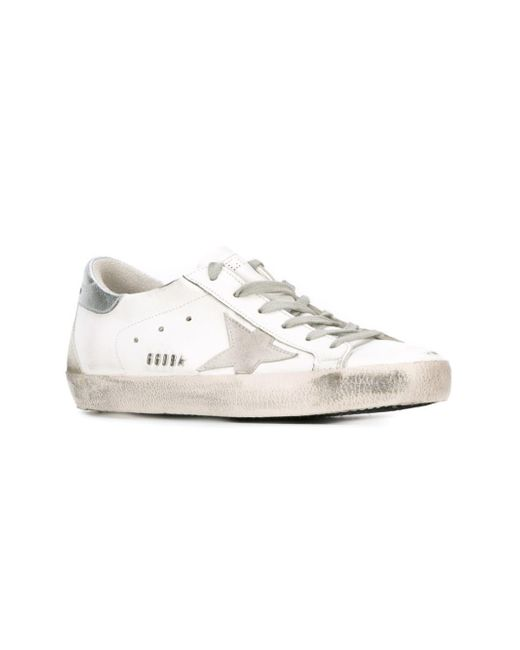 fcf2851ef25e Golden Goose Deluxe Brand  super Star  Sneakers in White - Lyst