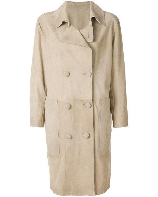 Golden Goose Deluxe Brand | Natural Nives Coat | Lyst