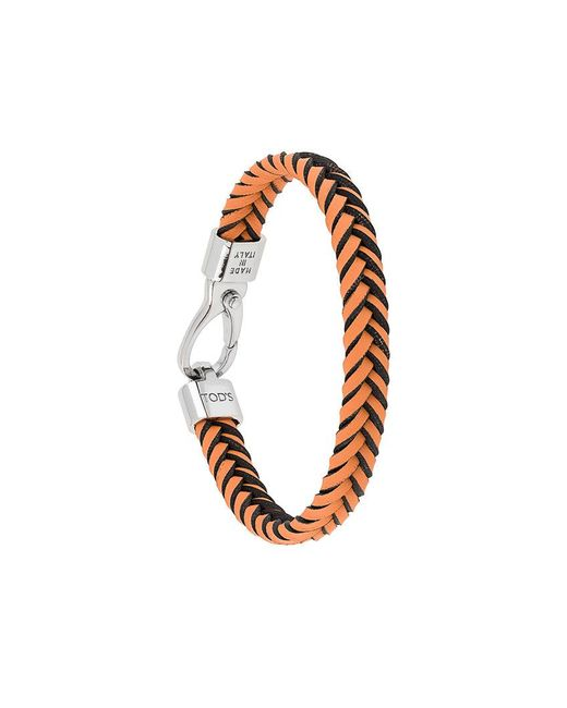 Tod's - Multicolor Braided Wrap Bracelet for Men - Lyst