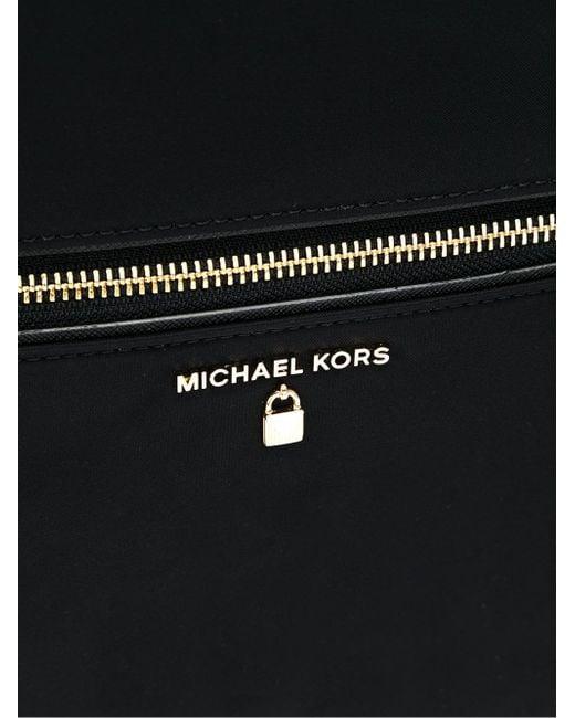 e899c8bffb6d Mochila Kelsey MICHAEL Michael Kors de color Negro - Lyst