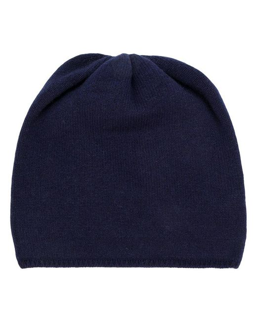 Danielapi - Blue Chunky Knit Beanie - Lyst