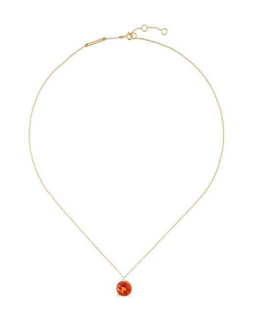 Delfina Delettrez - Metallic 'magic Triangle' Diamond Necklace - Lyst