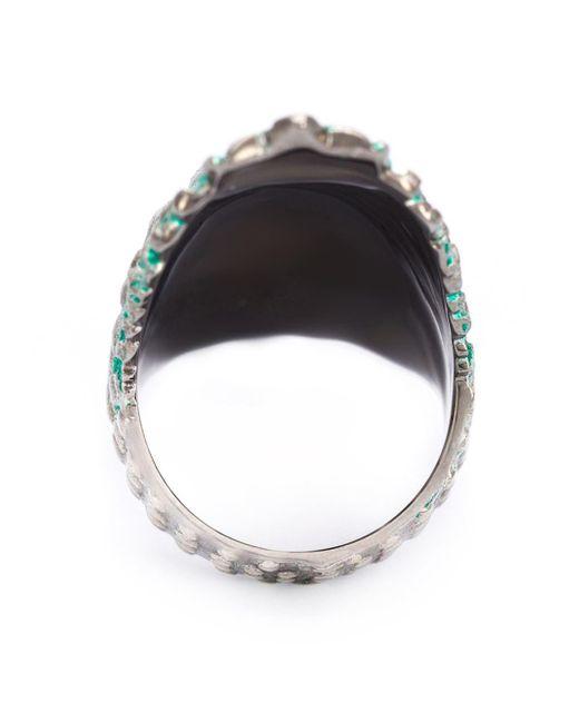 Venyx Lady Caiman ring - Metallic KhIxcS