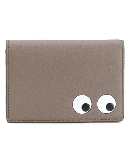 Anya Hindmarch - Gray Eyes Card Case - Lyst