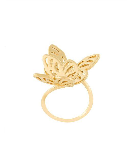 Lara Bohinc | Metallic Butterfly Ring | Lyst