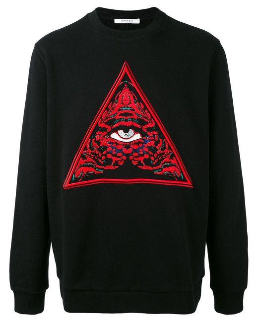 Givenchy | Black Eye Print Jumper for Men | Lyst