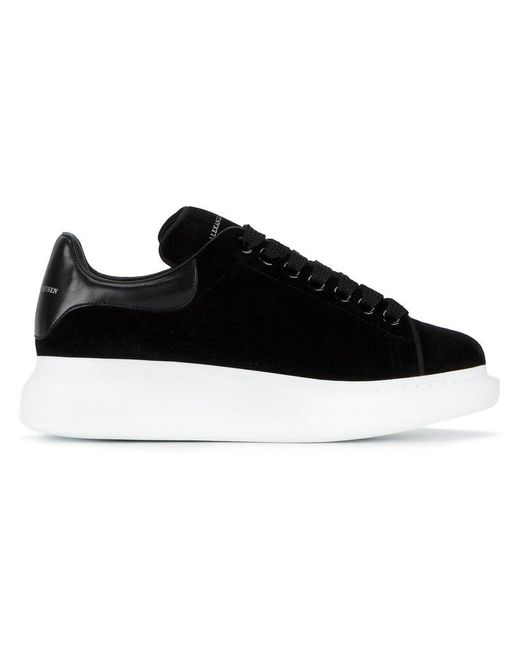 8959029ff705 Lyst - Alexander McQueen Extended Sole Sneakers in Black - Save 15%