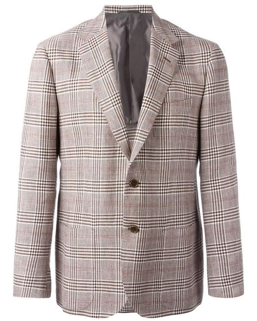 Kiton | Red Sartoria Blazer for Men | Lyst