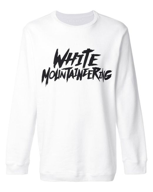 White Mountaineering   White Branded Top for Men   Lyst