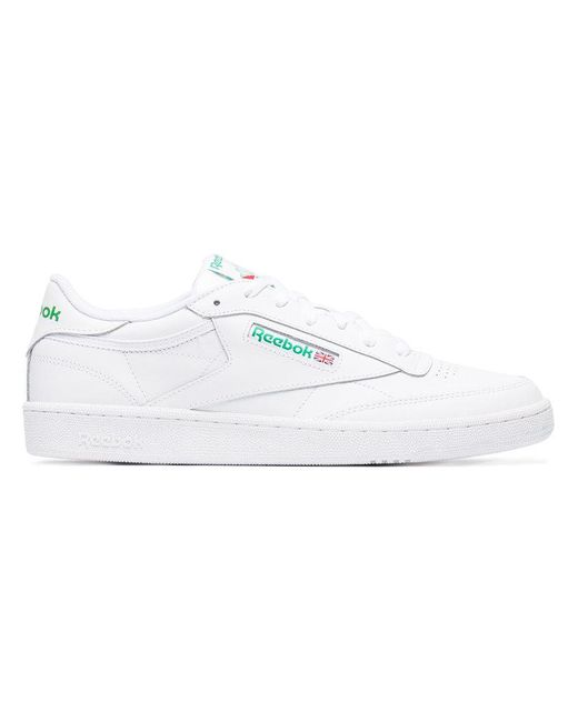 362634e6e Reebok White Leather Workout Plus Sneakers in White for Men - Save ...
