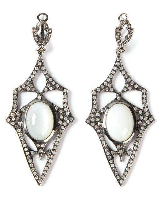 Loree Rodkin - Metallic 'kaleidoscope' Diamond Earrings - Lyst