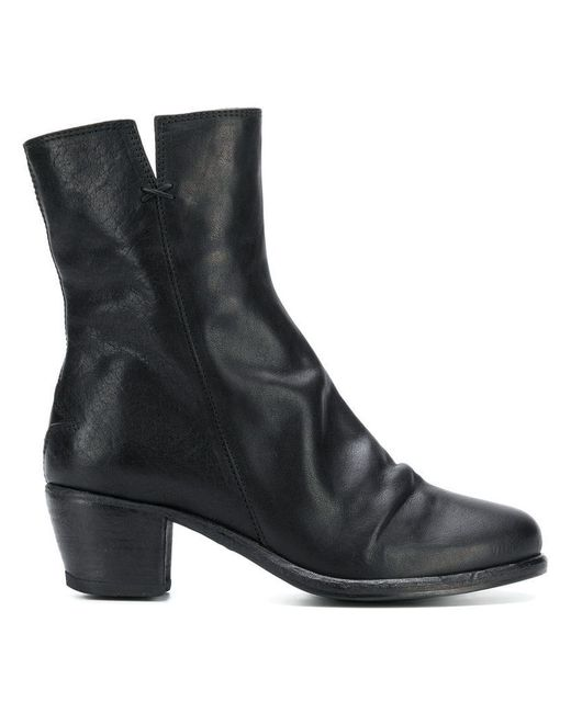 Fiorentini + Baker - Black Side Zip Ankle Boots - Lyst