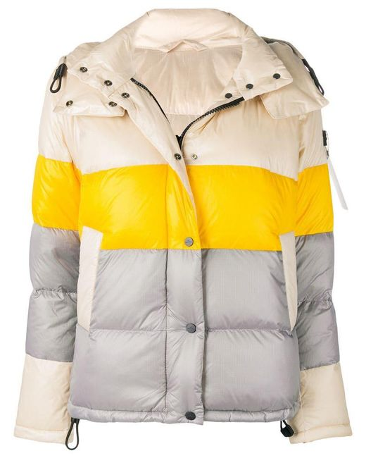 Peuterey - Multicolor Colour Block Padded Jacket - Lyst