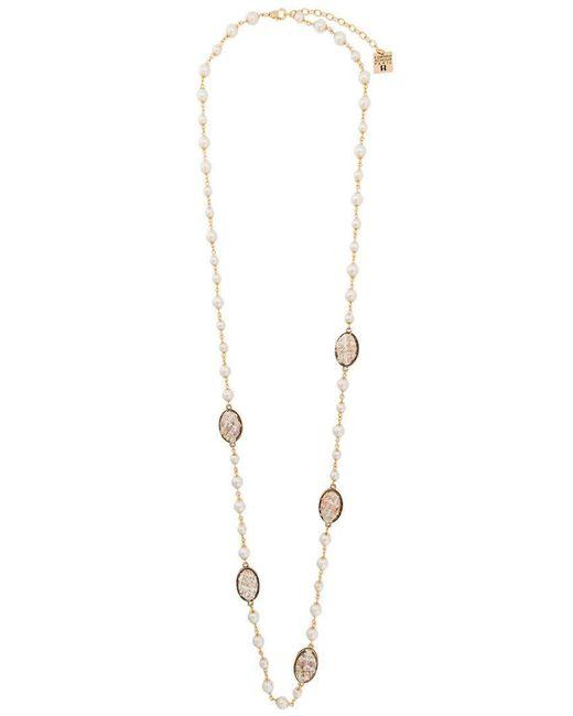 Edward Achour Paris - Multicolor Long Pearl Necklace - Lyst
