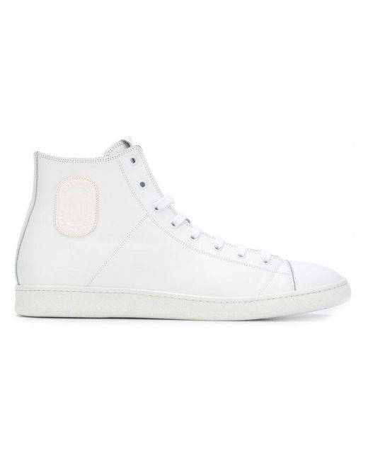 Marc Jacobs - White Hi-top Sneakers for Men - Lyst