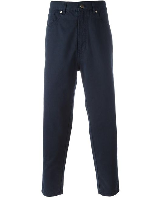Societe Anonyme | Blue 'deep Chino' Trousers for Men | Lyst