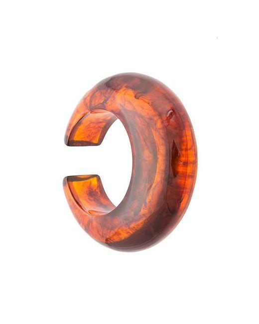 Cult Gaia - Brown Thick Circular Open Bracelet - Lyst