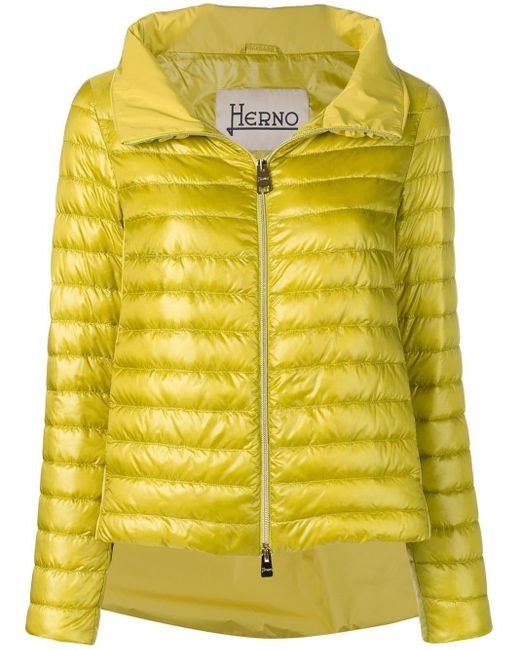 Herno Green Padded Jacket
