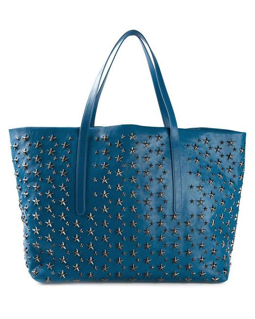 Jimmy Choo - Blue 'pimlico' Tote for Men - Lyst