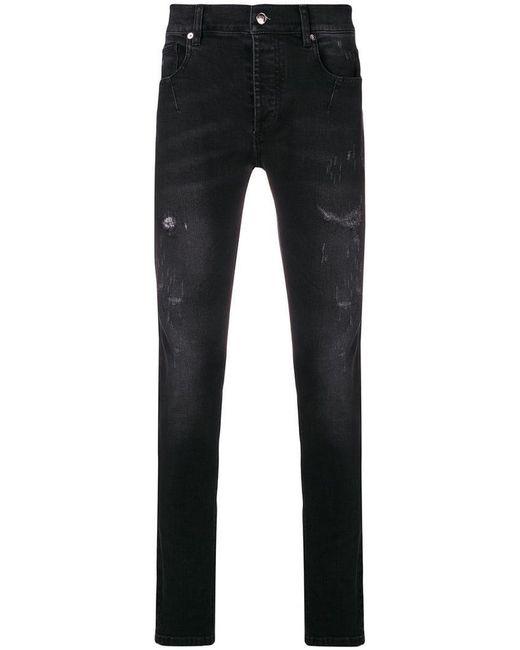 Les Hommes - Black Slim-fit Jeans for Men - Lyst