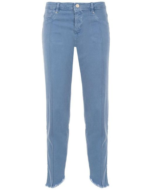 Mara Mac - Blue Cropped Jeans - Lyst