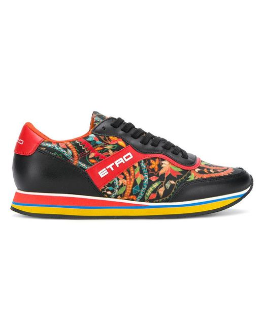 Etro floral runner sneakers outlet 2014 unisex QoU8f8H1xs