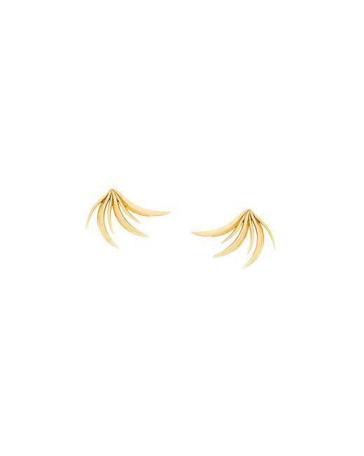 Niomo - Metallic Attalea Earrings - Lyst