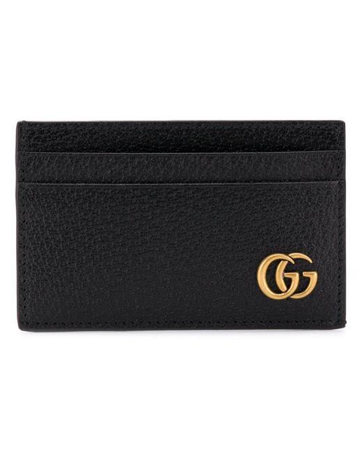 78c4826a9d81 Gucci - Black GG Cardholder for Men - Lyst ...