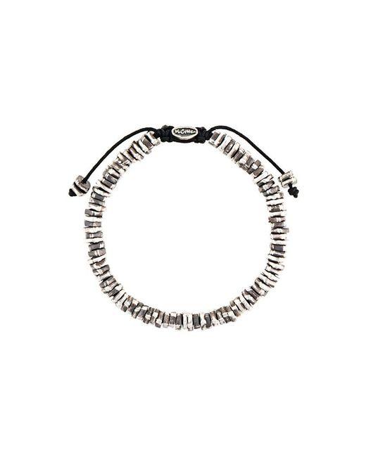 M. Cohen | Metallic Beaded Bracelet for Men | Lyst
