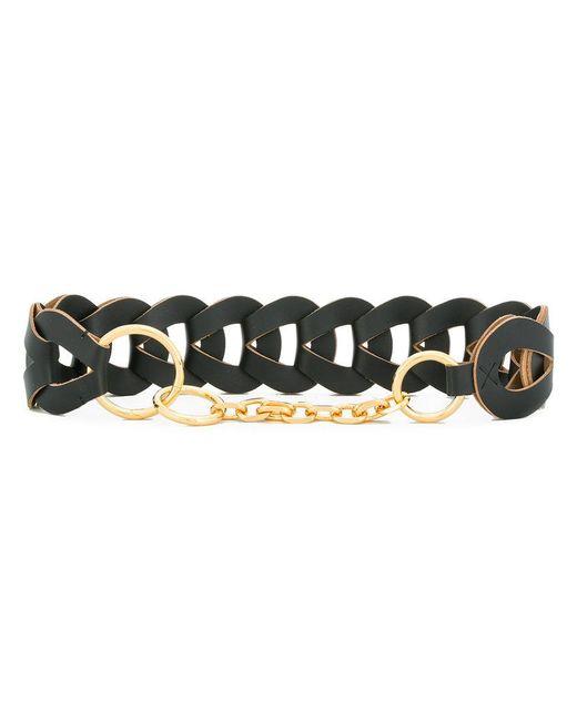 interlocking woven belt - Black Marni lAmNBir