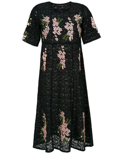 Cecilia Prado - Black Perla Knit Dress - Lyst