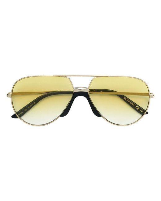 Gucci - Multicolor Lunettes de soleil à monture aviateur - Lyst ... 641548b08afd