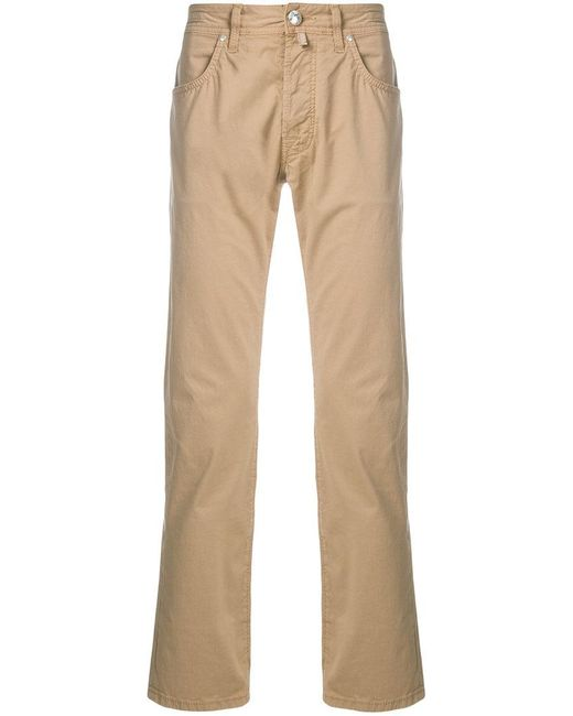 Jacob Cohen - Natural Casual Chinos for Men - Lyst