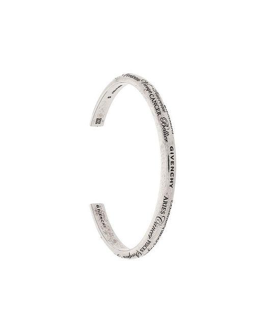 Givenchy - Metallic 'Zodiac' Armspange for Men - Lyst