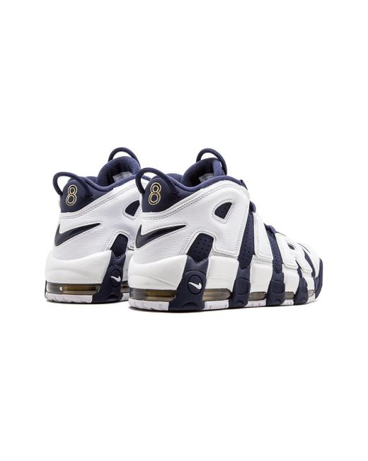 ... Nike - White Air More Uptempo Sneakers for Men - Lyst ... 5ec46e1ad